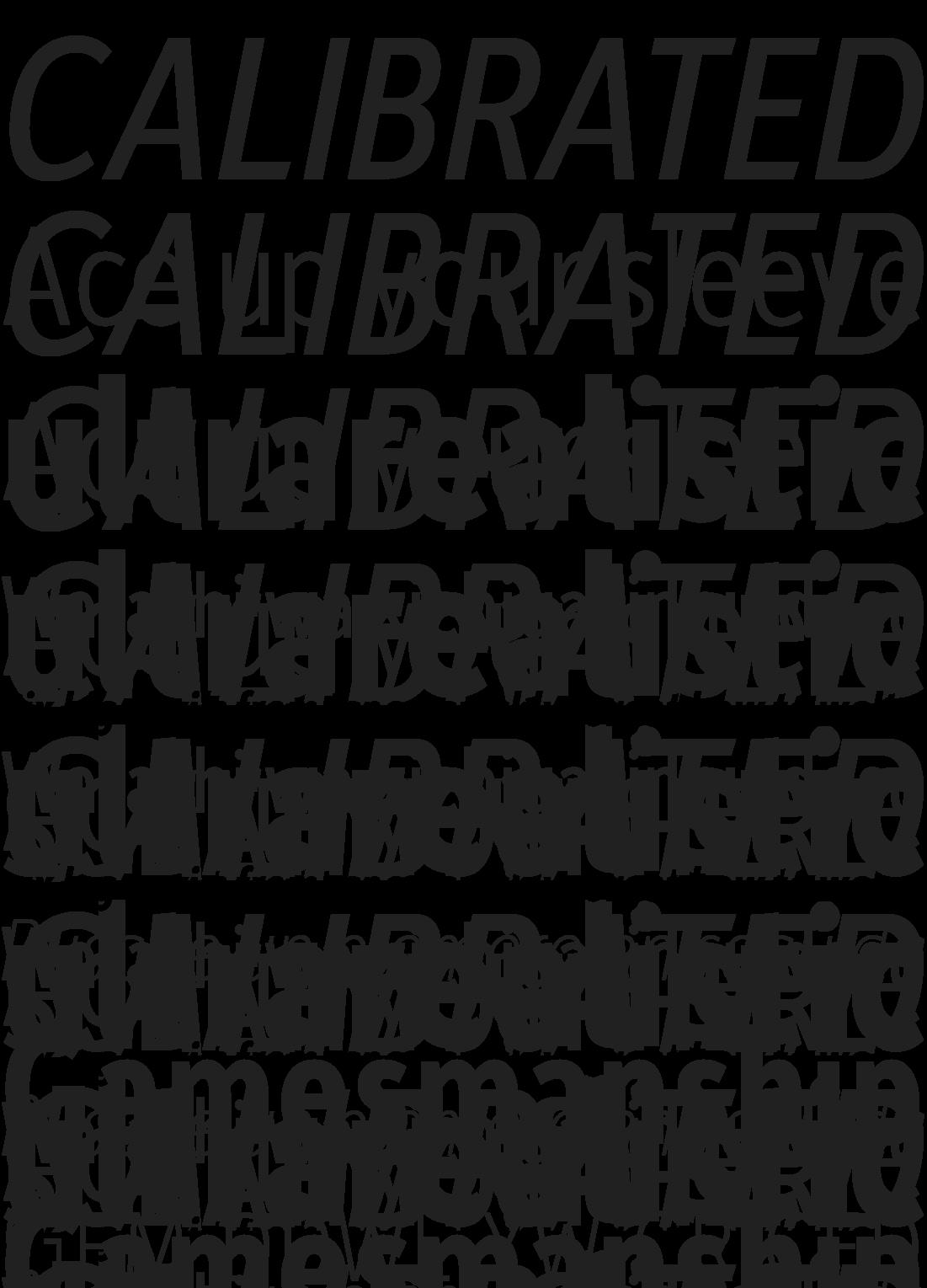 font-sample